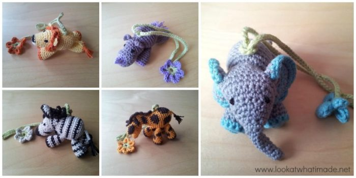 Crochet Little Zoo Mobile