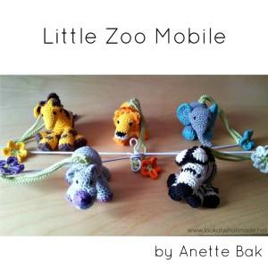 Crochet Little Zoo Mobile – by Anette Bak