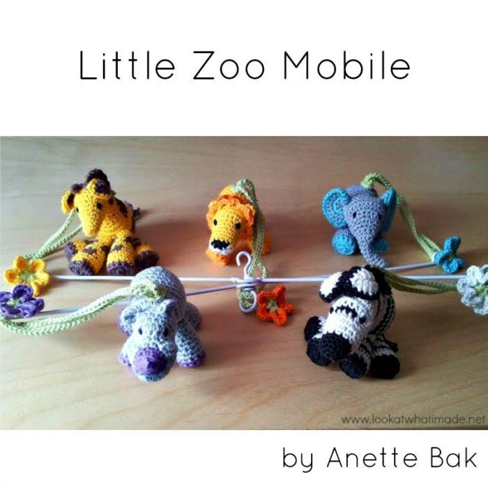 Crochet Little Zoo Mobile