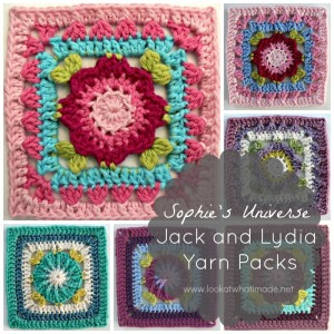 Jack and Lydia Yarn Packs – Sophie's Universe CAL 2015