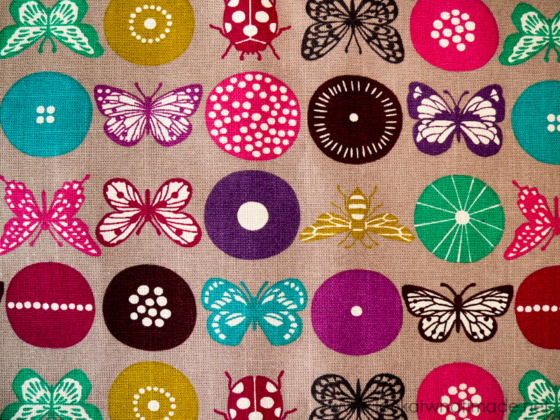 Lookatwhatimade Circles of the Sun Fabric