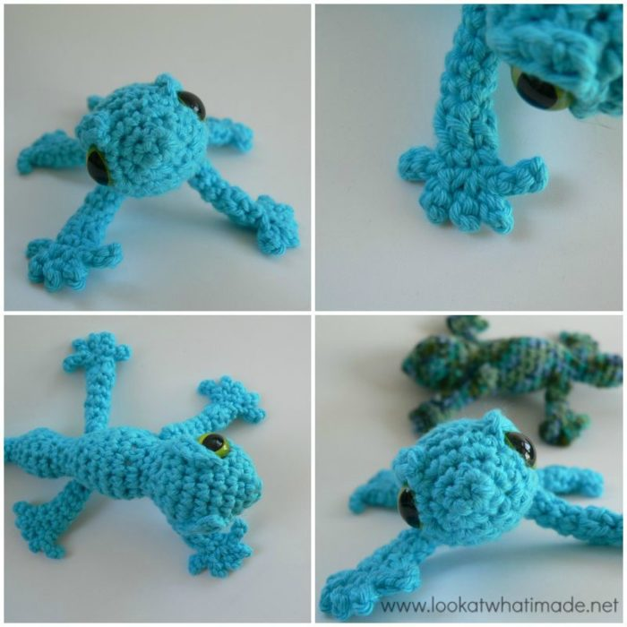 Crochet Lizard Patterns