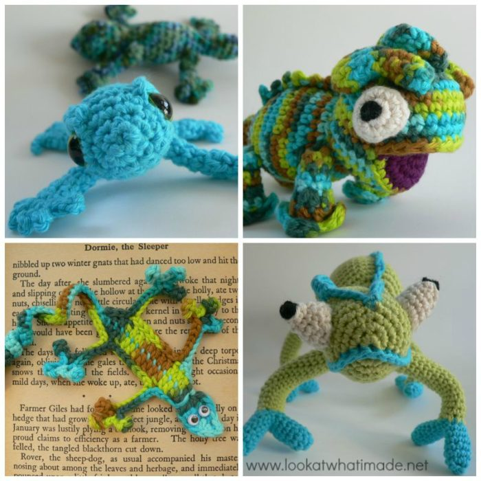 Amigurumi Halloween Free Patterns : 4 Fabulous Crochet Lizard Patterns - A Mini Round-up ...