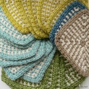 Linen Stitch Work In Progress