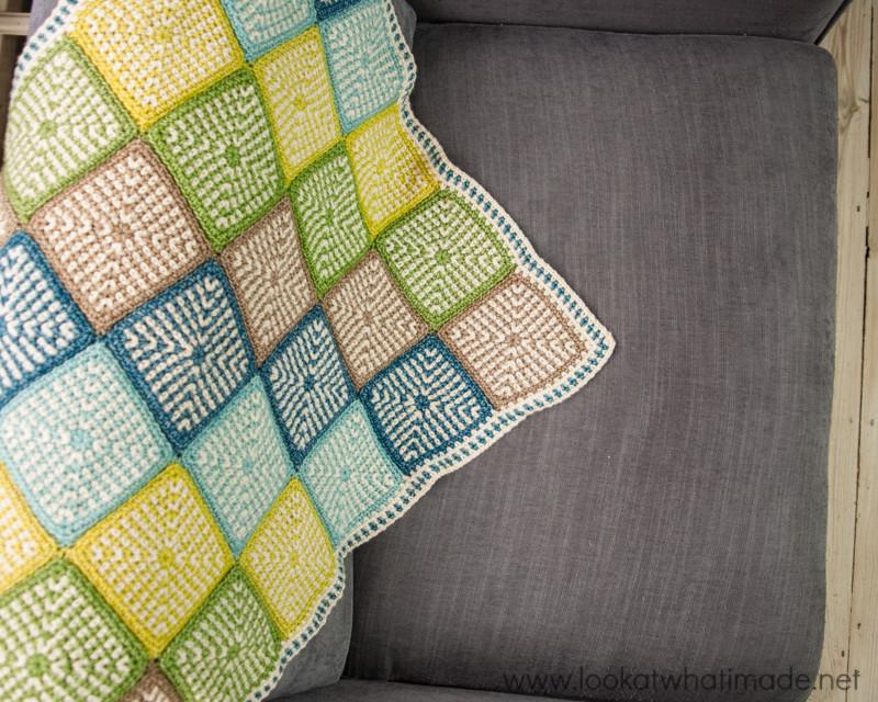 Linen Stitch Manghan Crochet Pattern