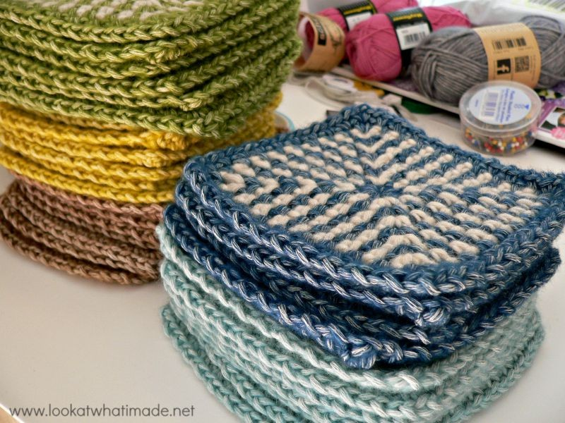 ... Linen Stitch Squares. You can find the pattern for the Linen Stitch