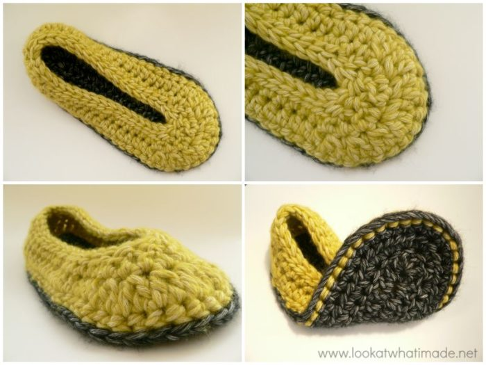 Chunky Crochet Slippers Pattern Look At What I Made