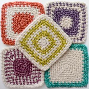Regular Crochet Linen Stitch Squares
