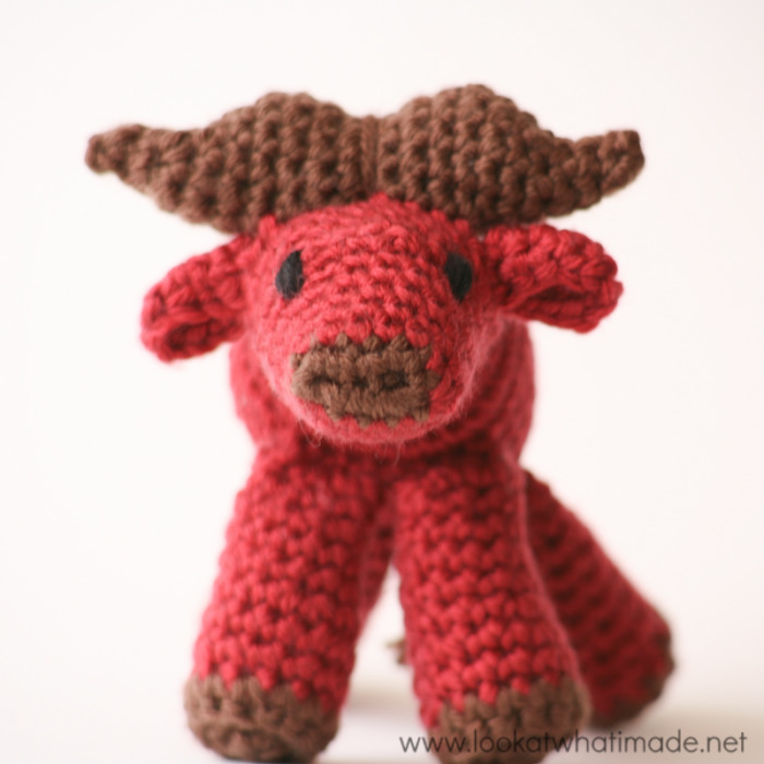 Walter the Crochet Water Buffalo {A Little Zoo Animal ...