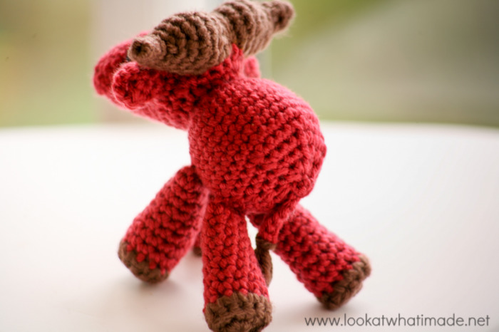 Walter the Crochet Water Buffalo {A Little Zoo Animal} - Look At ...
