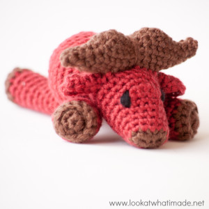 Walter the Crochet Water Buffalo  {A Little Zoo Animal}