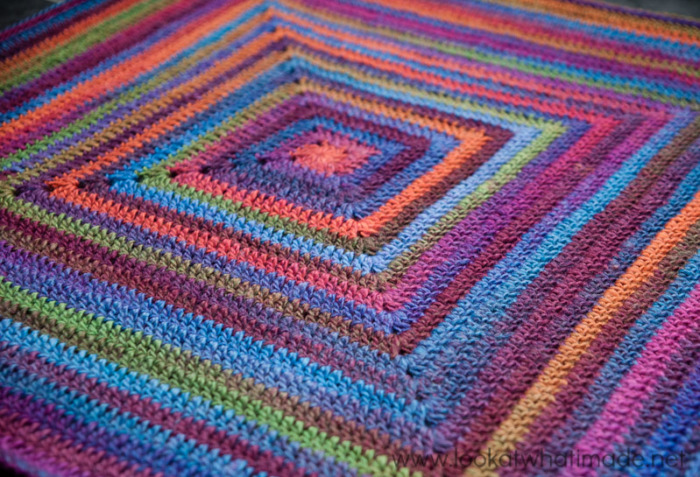Continuous Crochet Baby Blanket Preemiecar Seat Look At What I