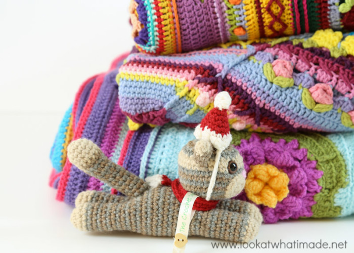 Crochet Christmas Tree Made From Crochet Blankets
