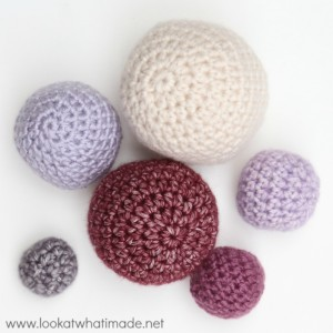 Crochet Balls {Free Pattern and What I Use Them For}