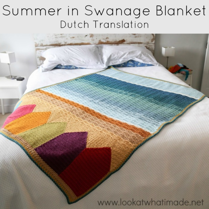 Summer in Swanage Blanket Dutch Translation
