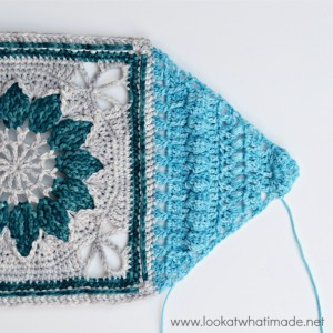 Charlotte {Large Crochet Square Part 2}