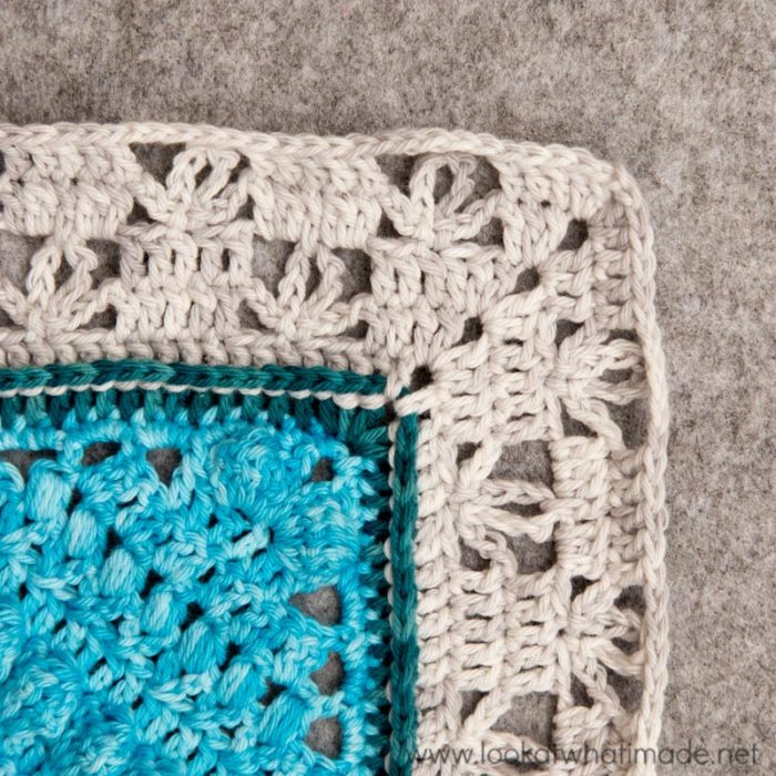 Charlotte Large Crochet Square Part 3