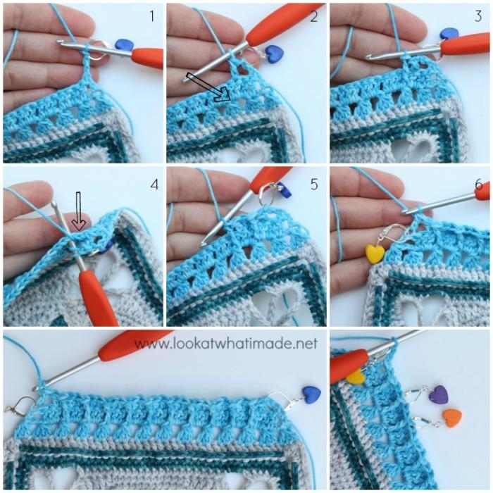 Charlotte Large Crochet Square Part 2