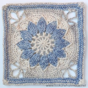 Charlotte {Large Crochet Square Part 1}