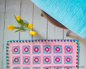 Devon Sun Yarns Weekend Retreat Crochet Lydia Blanket Free Pattern