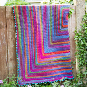 Joy's Journey Crochet Blanket Pattern