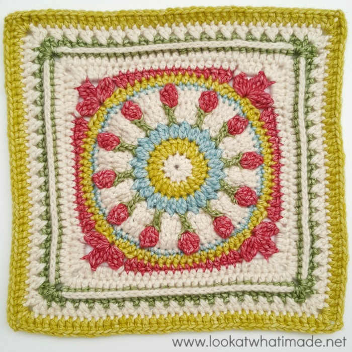 Crochet Stitches On Moogly : my latest 12? crochet square: Wishing Well. Designed for the Moogly ...