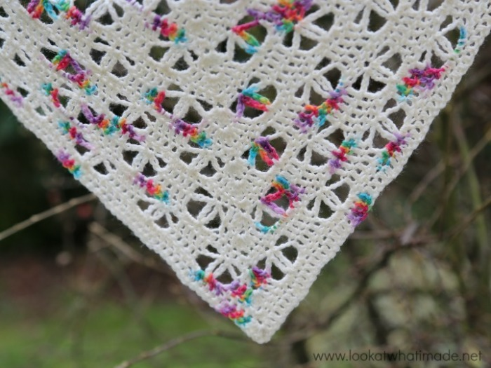 Banksia Shawl Crochet Pattern Look At What I Made