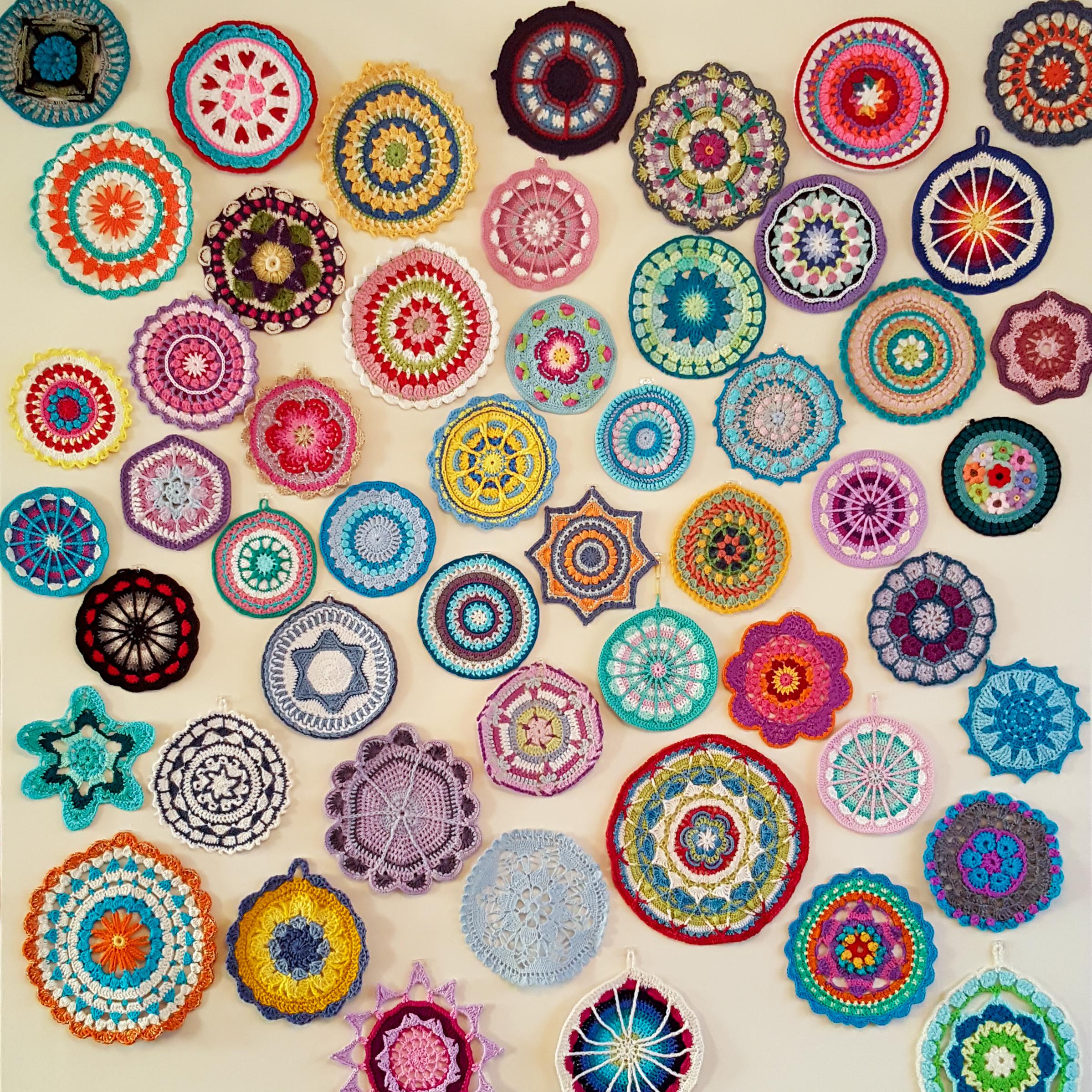 51 Glorious Mandalas On My Mandala Wall Look At What I Made