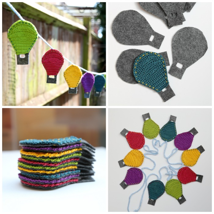 Bold Baby Crochet by Dedri Uys Crochet Hot Air Balloon Bunting