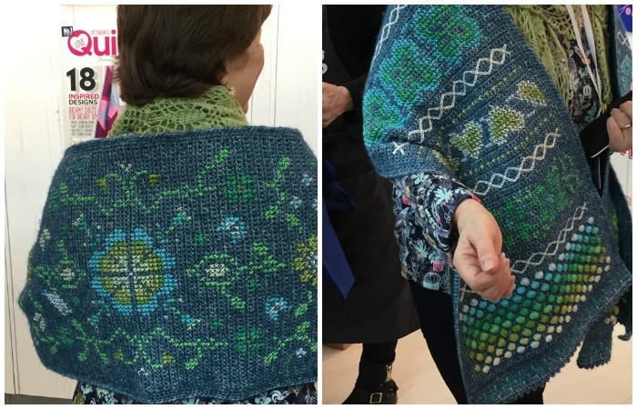 Hygge CAL Hygge Shawl Crochet Cross Stitch