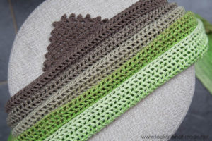 Show and Tell:  My Story Shawl