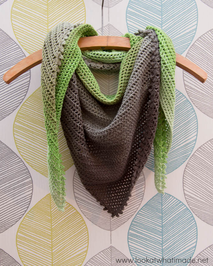 Show and Tell: My Story Shawl ⋆ Look At What I Made