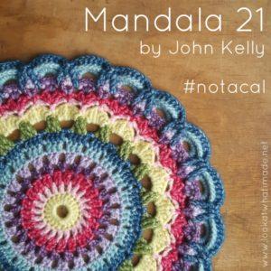 Mandala 21 – a Pattern by John Kelly