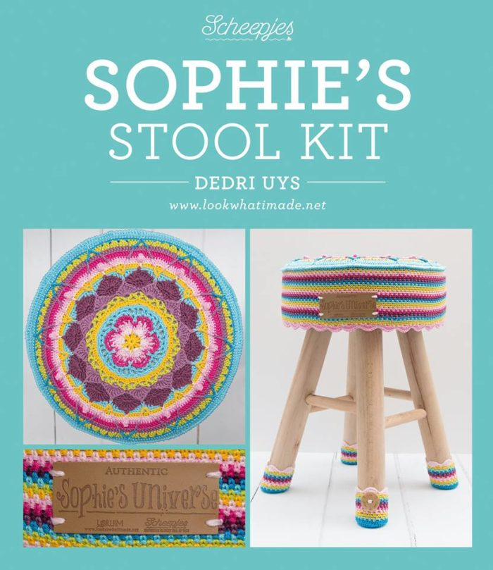 Scheepjes Sophie's Stool Pattern and Kits