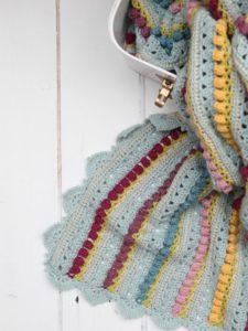 Memory Lane Blanket Crochet Pattern