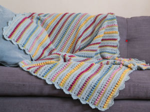 Memory Lane Blanket:  Reveal
