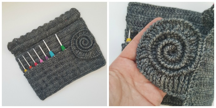 Ammonite Crochet Hook Roll Pattern ⋆ Look At What I Made