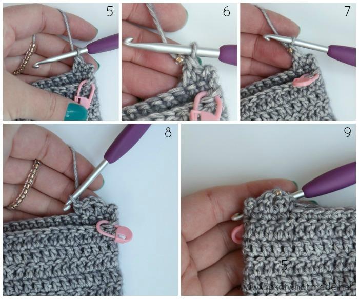 Ammonite Crochet Hook Roll Pattern