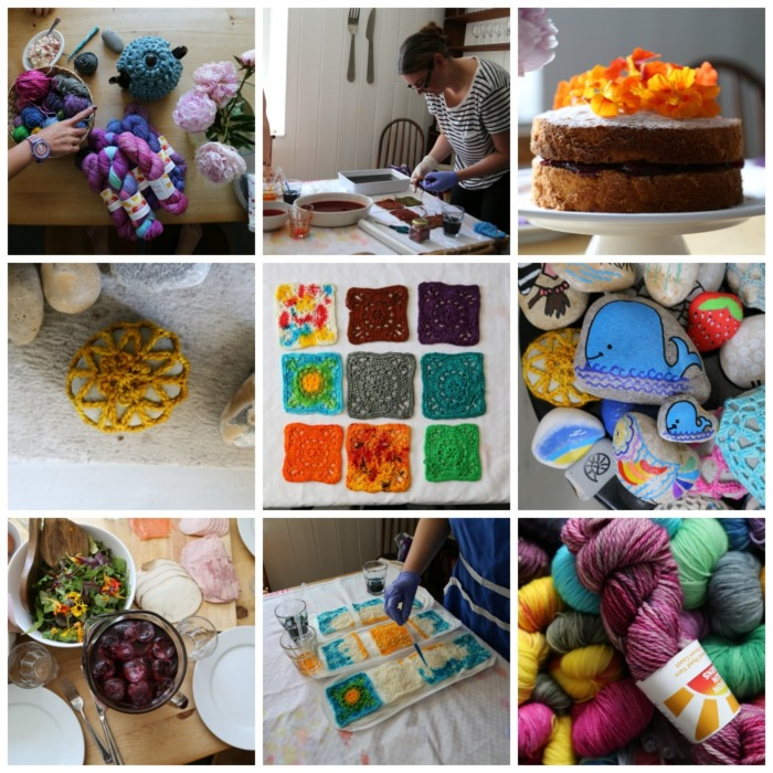 Devon Sun Yarns Retreat Lookatwhatimade June 2017