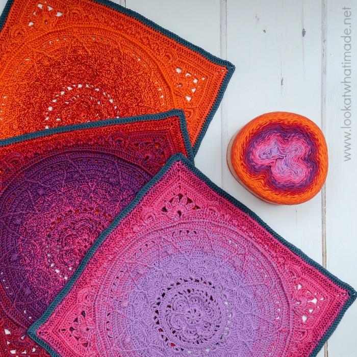 Sophie's Dream Crochet Blanket Work in Progress