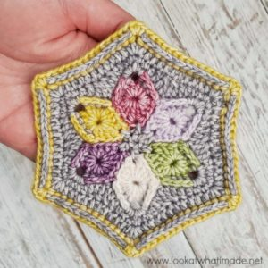 Six Degrees of Separation Coaster Pattern