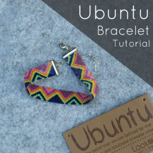 Scheepjes Ubuntu CAL 2018:  Beaded Friendship Bracelet
