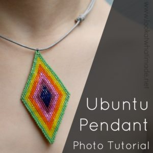 Scheepjes Ubuntu CAL 2018:  Beaded Friendship Pendant