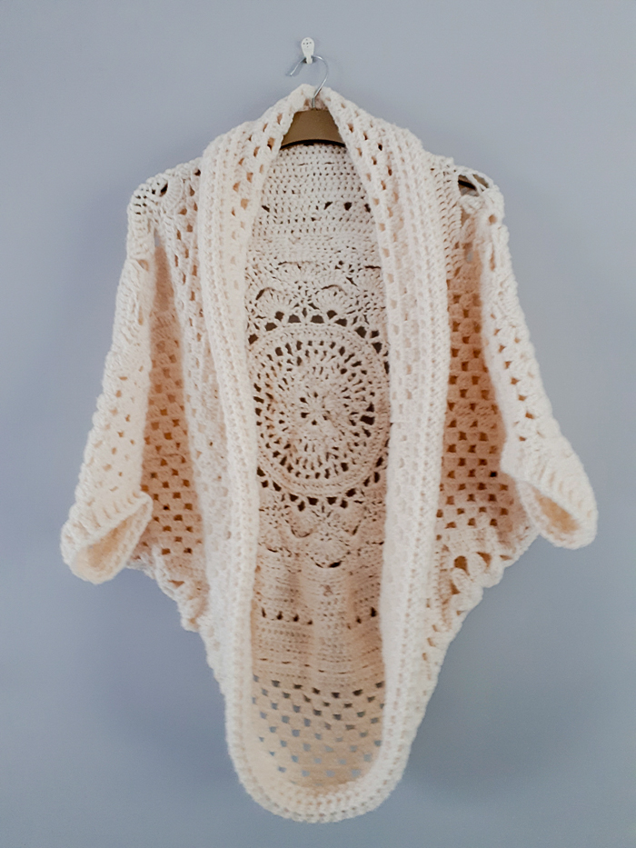 Crochet Sophie Cocoon Cardigan Stephanie Best