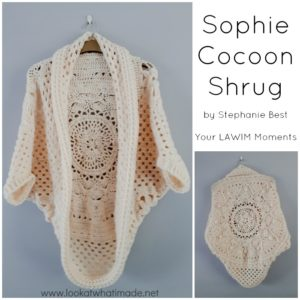 Featured Project:  Sophie Cocoon Cardigan by Stephanie Best