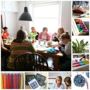 Devon Sun Yarns Retreat April 2017